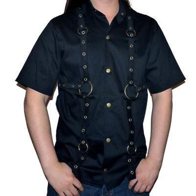 Phaze Clothing-Anarchy O-Ring Work Shirt