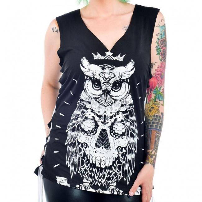 Too Fast-Regal Owl Vest