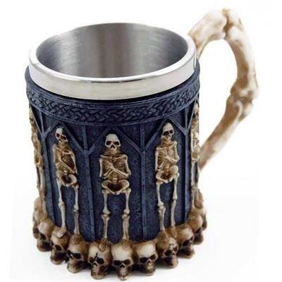Cleo Gifts-Skeleton Celtic Tankard