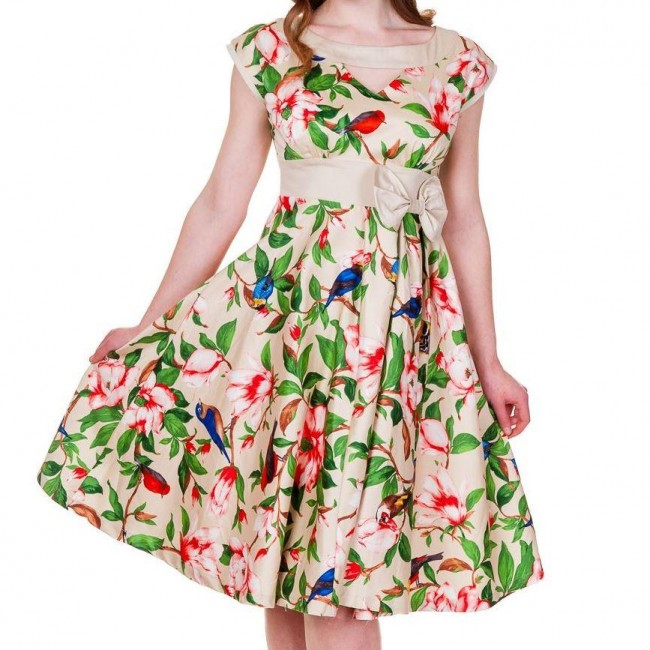 Banned Apparel-Tropical Bird Dress