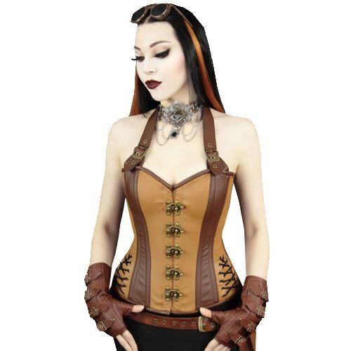 Restyle-Steampunk Overbust Corset