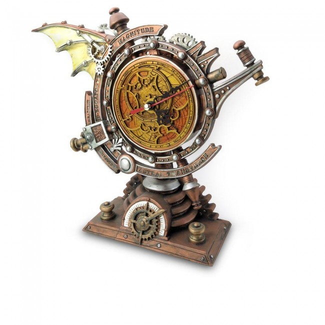 Alchemy Gothic-Celestial Stormgrave Chronometer Clock