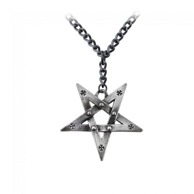 Alchemy Gothic-Pentagration Pendant