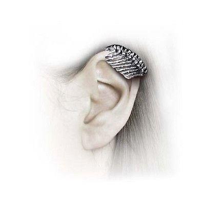 Alchemy Gothic-Mortal Frame Ribs Ear Cuff