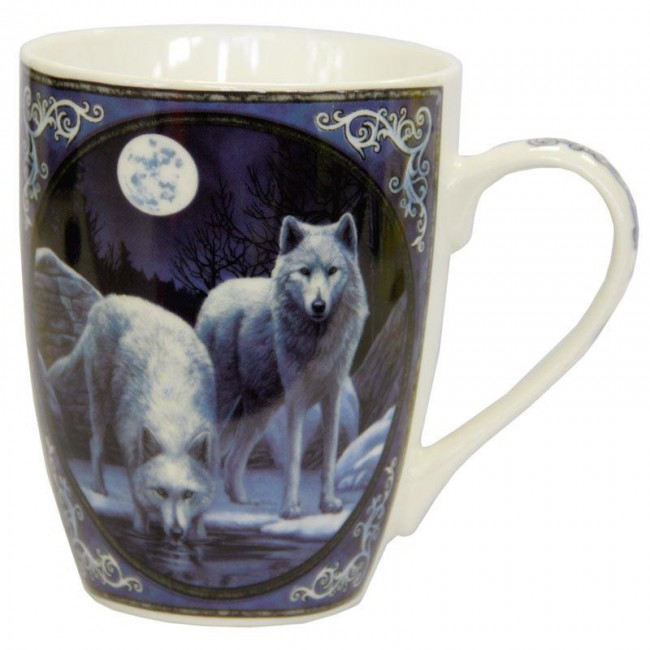 Lisa Parker-Warrior Of Winter Wolf Mug