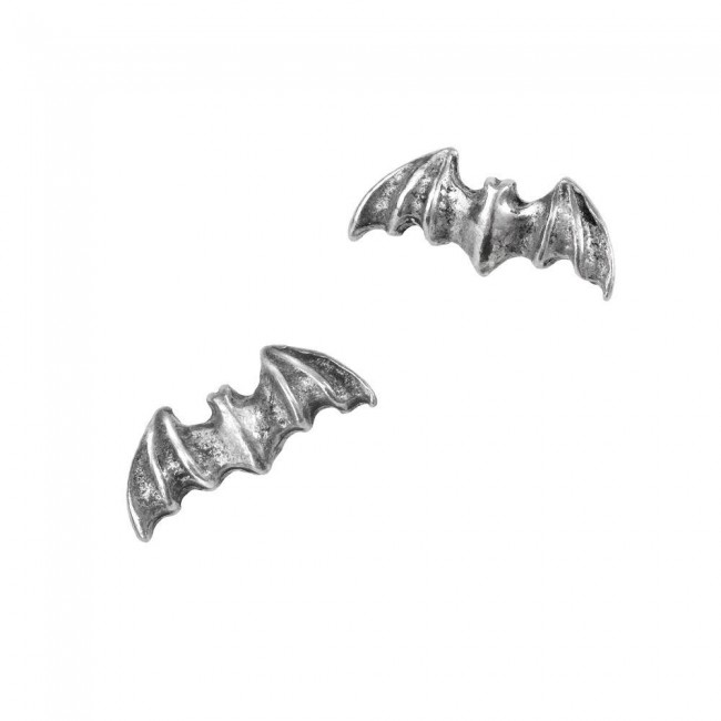 Alchemy Gothic-Bat Ear Studs