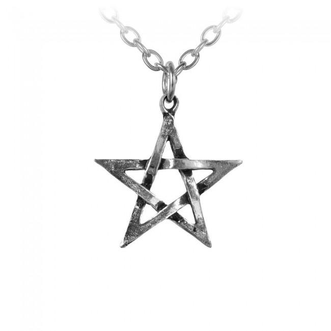 Alchemy Gothic-Pentagram Pendant