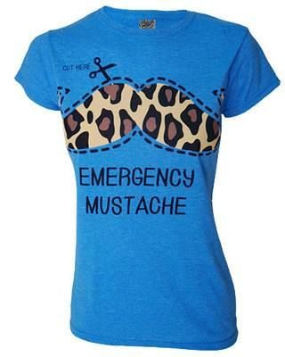Darkside Clothing-Emergency Moustache T-shirt