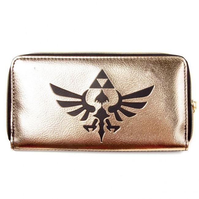 Legend Of Zelda-Legend Of Zelda Hylian Gold Wallet