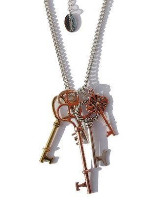 Darkside Clothing-Steampunk Key Necklace
