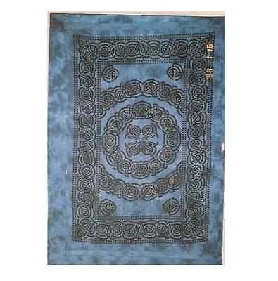 Cleo Gifts-Celtic Knot Single Bedspread