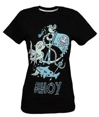 Cosmic Clothing-Ahoy Nautical T-shirt