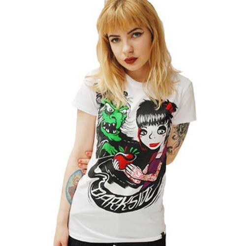 Darkside Clothing-Snow Witch T-shirt