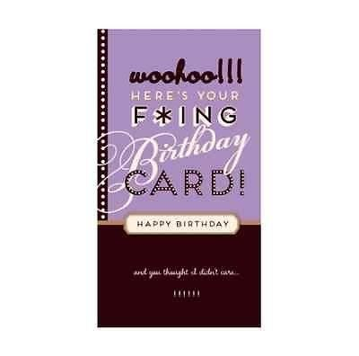 Something Different-Woohoo Birthday Card
