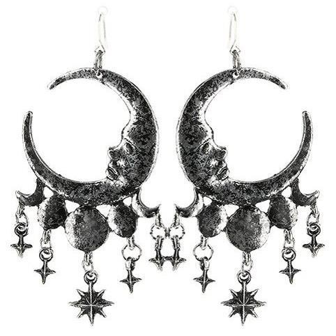 Restyle-Sleepless Nights Silver Earrings