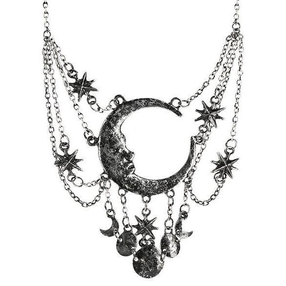 Restyle-Sleepless Nights Silver Necklace