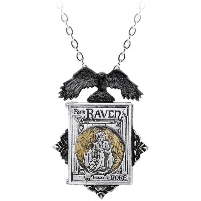 Alchemy Gothic-Poes Raven Locket