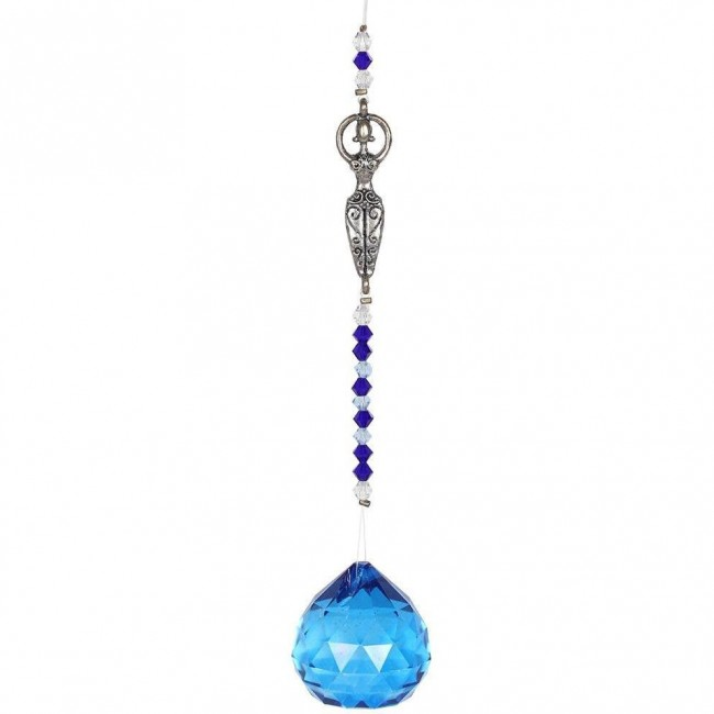 Something Different-Hanging Goddess Crystal
