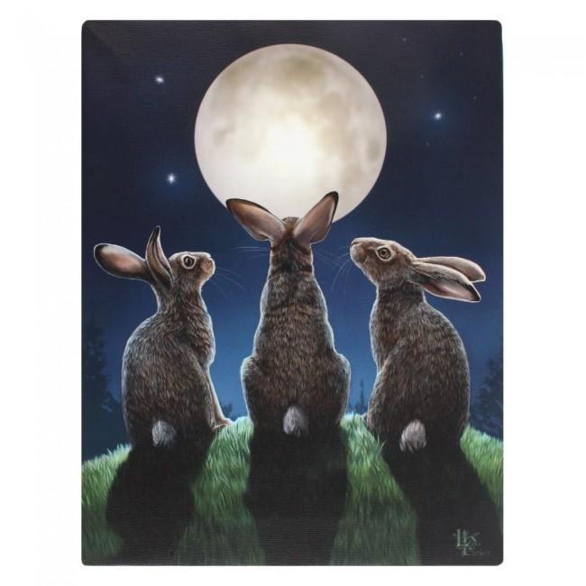 Lisa Parker-Moon Shadows Canvas