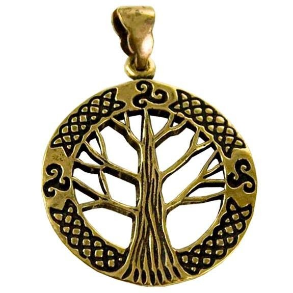 Phoenixx Rising-Tree Of Life Triskele Pendant