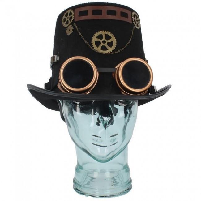 Nemesis Now-Cogsmiths Steampunk Top Hat