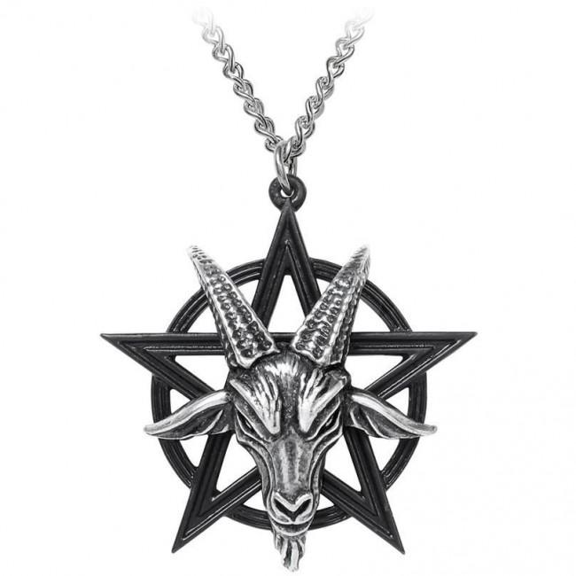 Alchemy Gothic-Baphomet Pendant