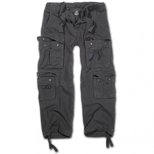 Brandit-Black Pure Vintage Trouser