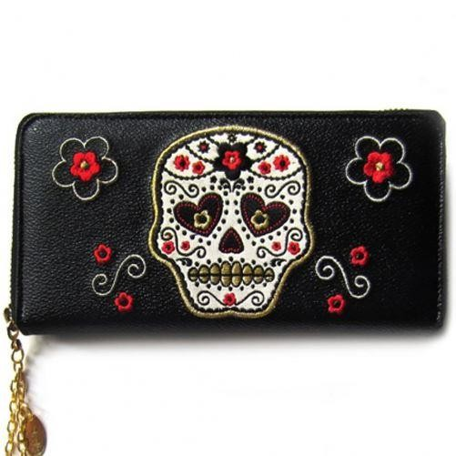 Banned Apparel-Candy Skull Wallet
