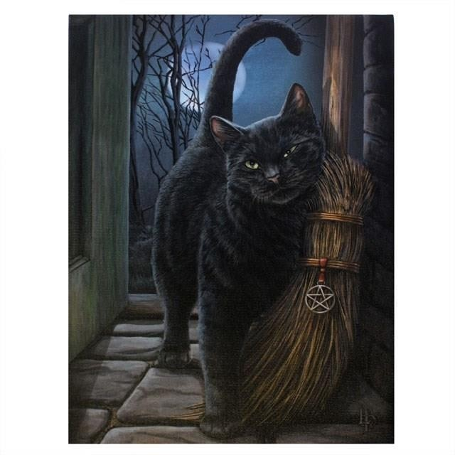 Lisa Parker-Brush With Magick Canvas