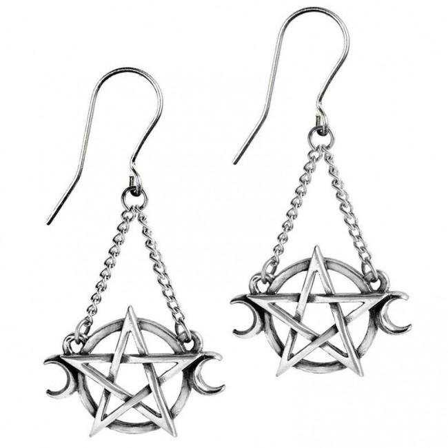 Alchemy Gothic-Goddess Earrings
