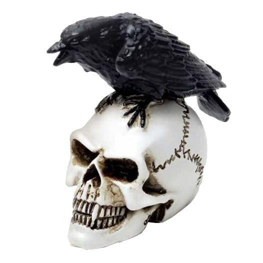 Alchemy Gothic-Poes Raven Mini Ornament