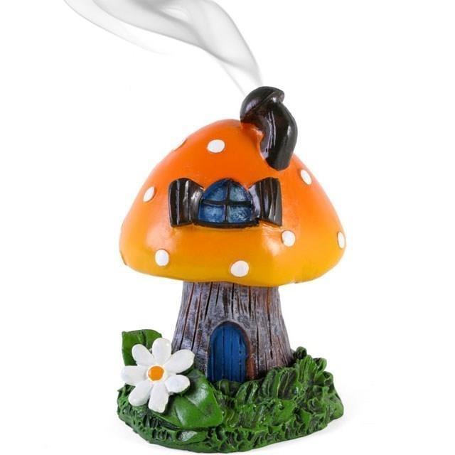 Lisa Parker-Orange Toadstool Incense Burner