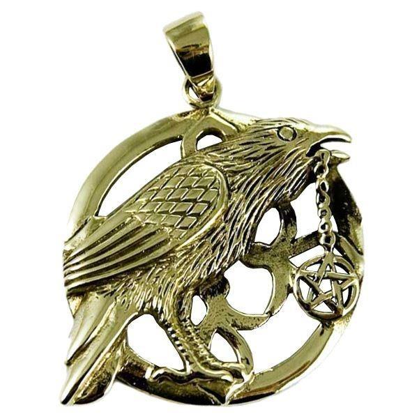 Lisa Parker-Raven Pentagram Bronze Pendant
