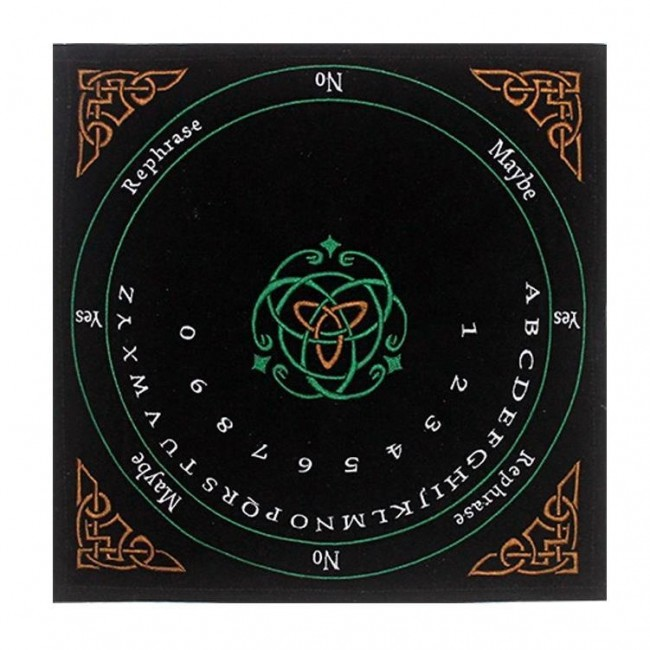 Phoenixx Rising-Celtic Embroidered Pendulum Mat