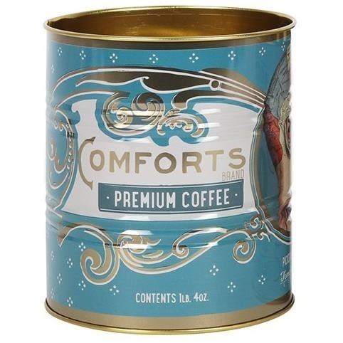 Something Different-Comforts Coffee Phrenology Storage Tin