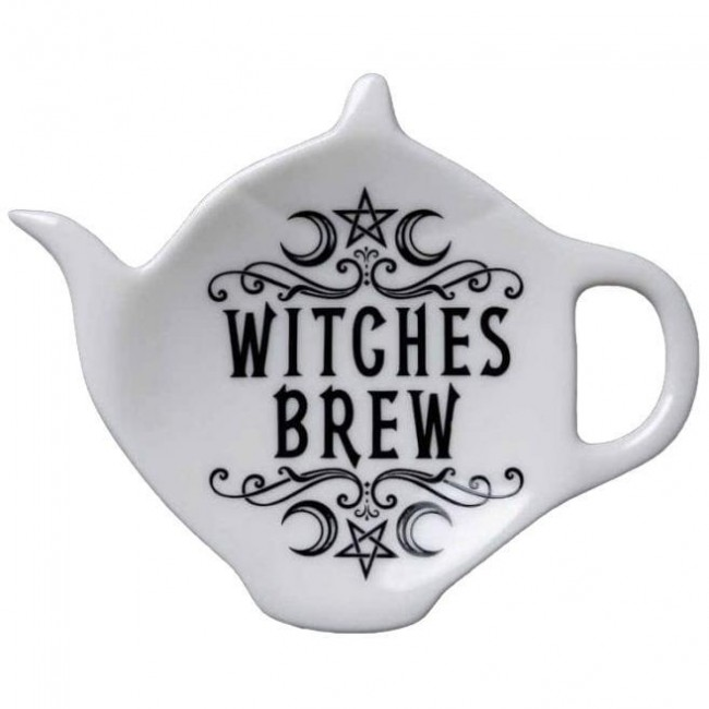 Alchemy Gothic-Witches Brew Tea Spoon Rest