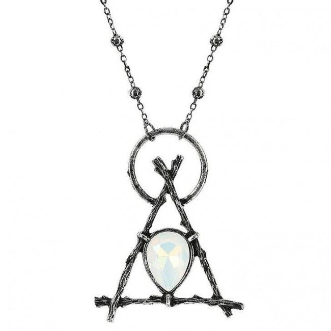 Restyle-Delta Branch Silver Pendant