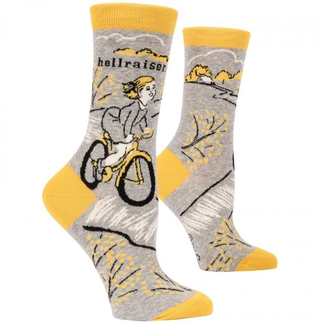 Blue Q-Hellraiser Socks
