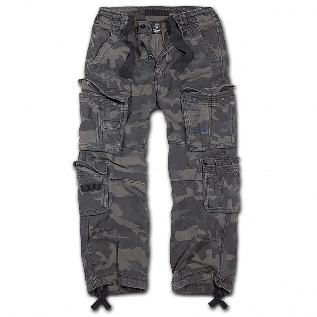 Brandit-Dark Camo Pure Vintage Trouser