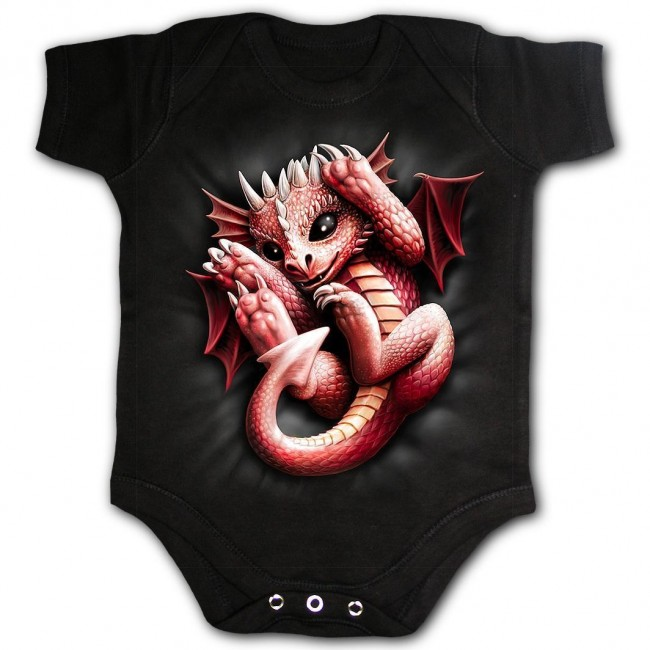 Spiral Direct-Whelp Dragon Baby Grow