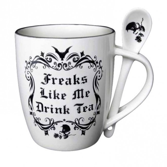 Alchemy Gothic-Freaks Like Me Mug Set