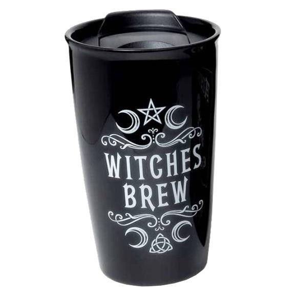 Alchemy Gothic-Witches Brew Travel Mug