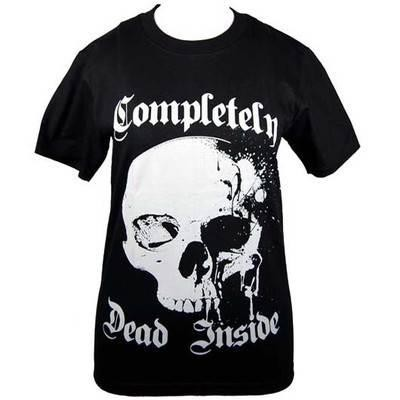 Cleo Gifts-Completely Dead Inside T-shirt