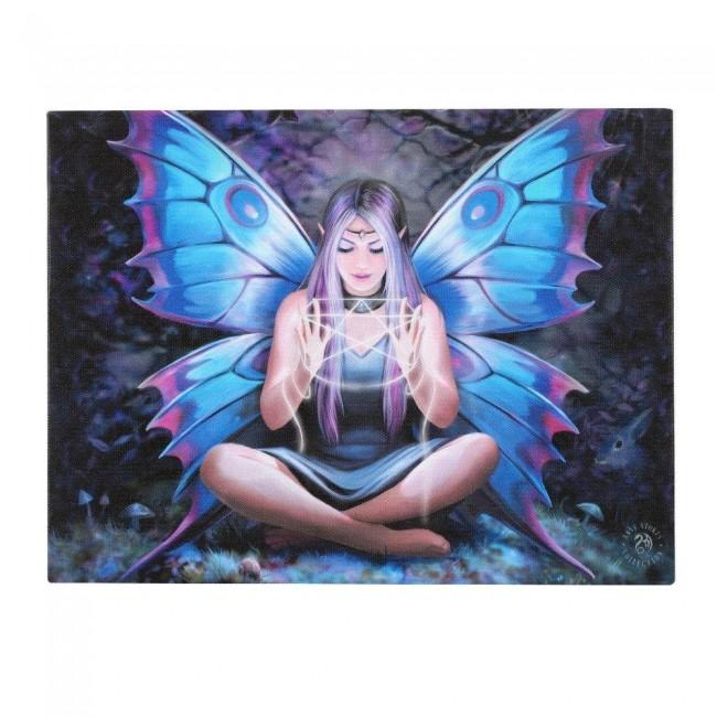 Anne Stokes-Spell Weaver Canvas