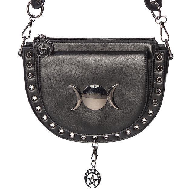 Banned Apparel-Vidonia Triple Moon Bag
