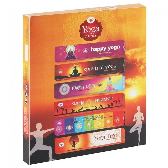 Phoenixx Rising-Yoga Collection Incense Gift Set