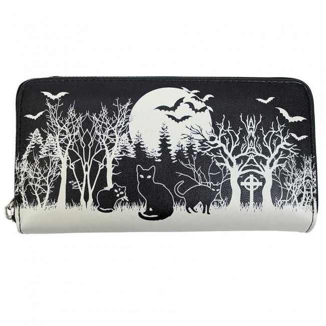 Banned Apparel-Spooky Woodland Wallet