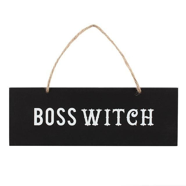 Something Different-Boss Witch Wall Sign