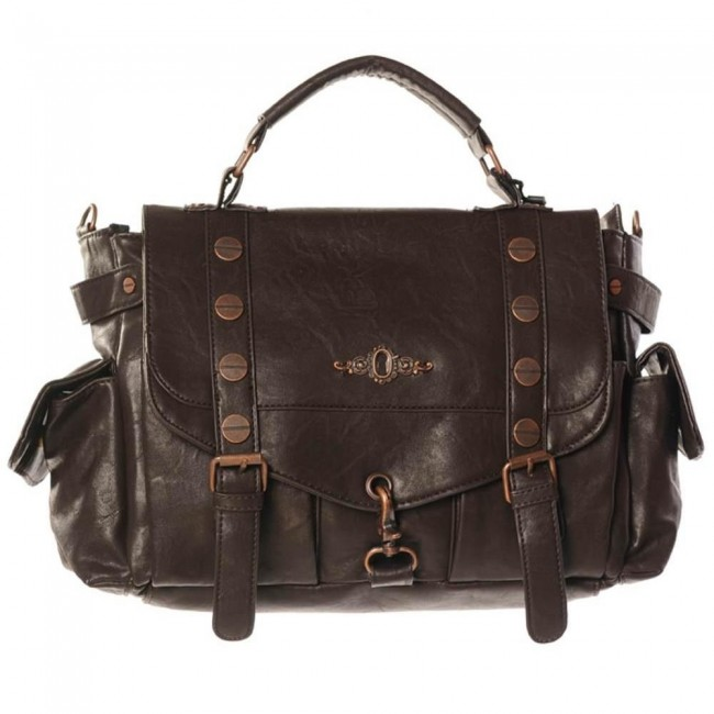 Banned Apparel-Steampunk Shoulder Bag