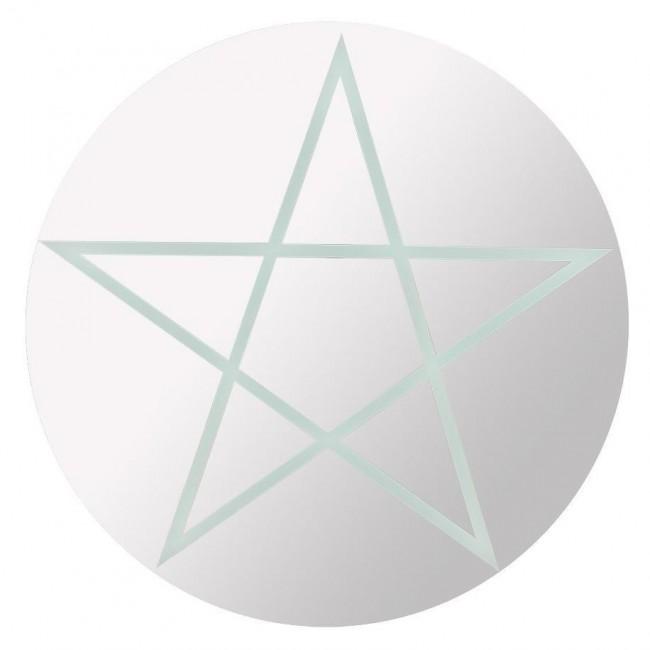 Phoenixx Rising-Pentagram Mirror
